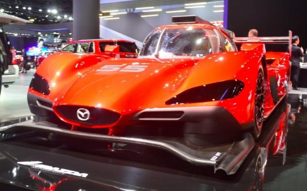 Mazda RT24-P prototip yarış otomobili - Page 2