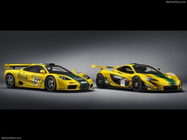 Автомобиль выполнен в цветах гоночного F1 GTR (шасси номер 06R), участвовав