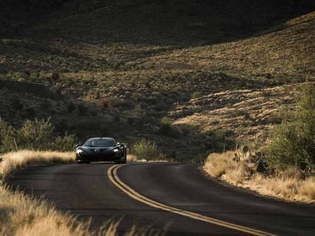McLaren P1 Nevada çölünde tanıtıldı! - Page 2