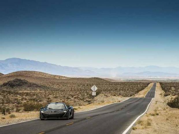 McLaren P1 Nevada çölünde tanıtıldı! - Page 3