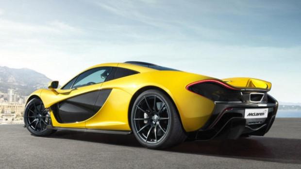 McLaren P1'artık dokunulabilir dünyada - Page 1