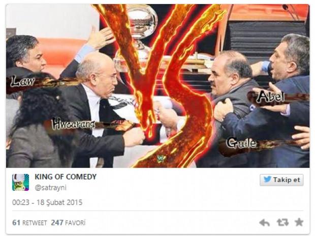 Mecliste çıkan çekiçli kavga sonrası sosyal medyadan 14 komik caps - Page 1