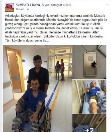 Mehmetçiğin hayatını iPhone kurtardı! - Page 1