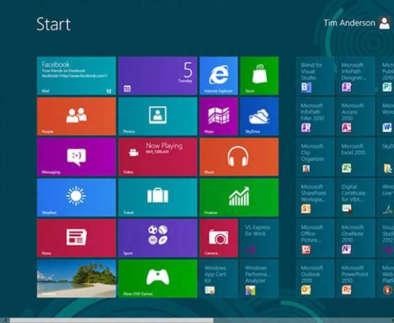 Merak edenler için resimlerle Windows 8 önizleme - Page 1