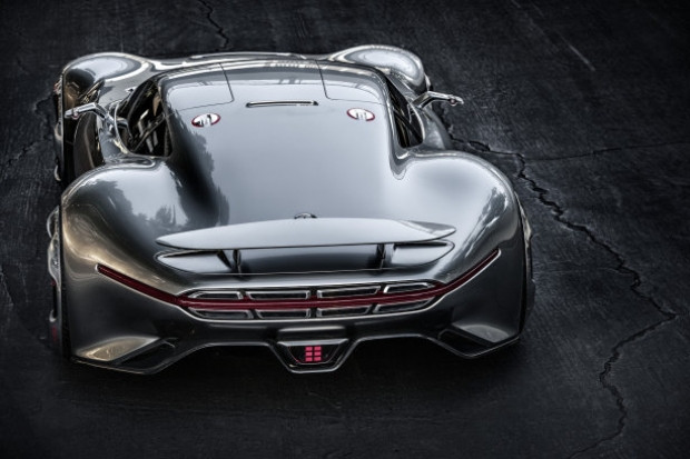 Mercedes, AMG Vision Gran Turismo'yu tanıttı - Page 1