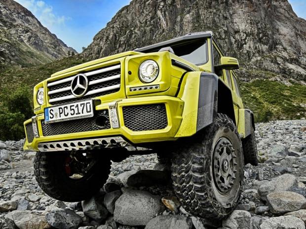 Mercedes-Benz G500 4x4-2 konsepti - Page 3