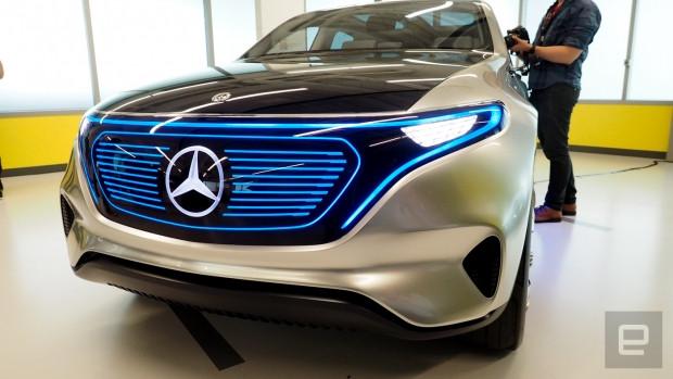 Mercedes Benz Generation EQ konsepti göz dolduruyor! - Page 1