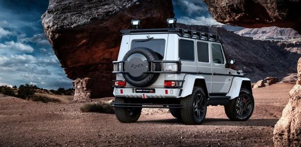 Mercedes G500 4x4 Squared ekstrem bir hal aldı - Page 1