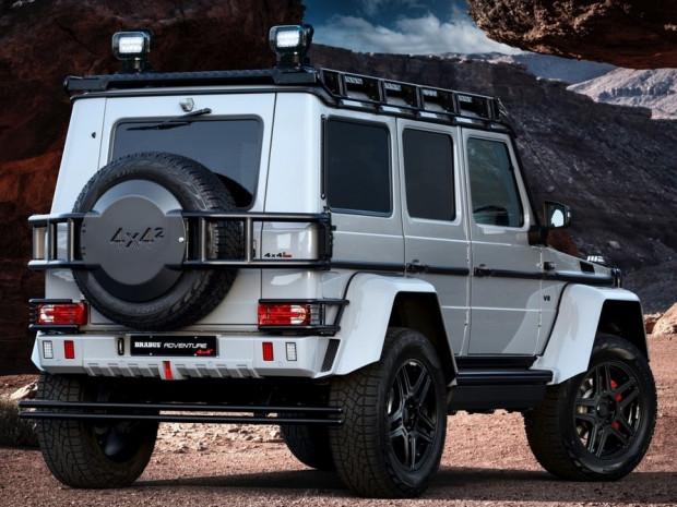 Mercedes G500 4x4 Squared ekstrem bir hal aldı - Page 2
