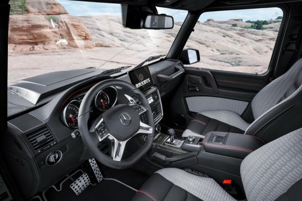 Mercedes G500 4x4 Squared ekstrem bir hal aldı - Page 4