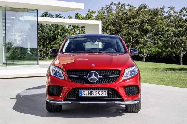 Mercedes GLE Coupe tanıtıldı - Page 1
