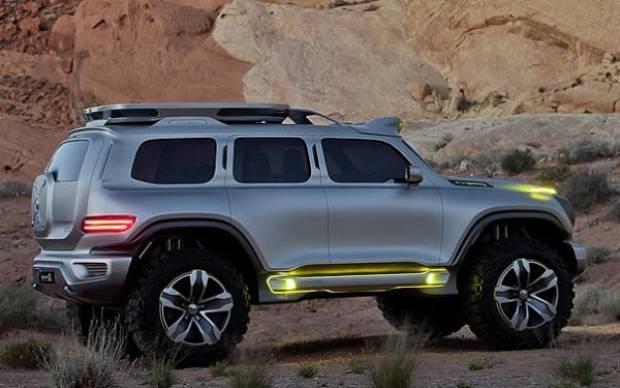 Mercedes gözünü Land Rover'a dikti! - Page 1