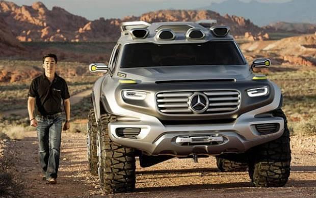 Mercedes gözünü Land Rover'a dikti! - Page 2