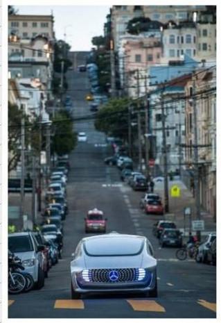 Mercedes şoförsüz otomobilini tanıttı! - Page 3