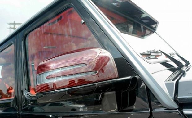 Mercedes'in 6 ayaklı devi G63 Brabus - Page 1