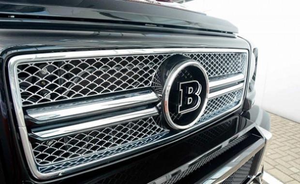 Mercedes'in 6 ayaklı devi G63 Brabus - Page 2