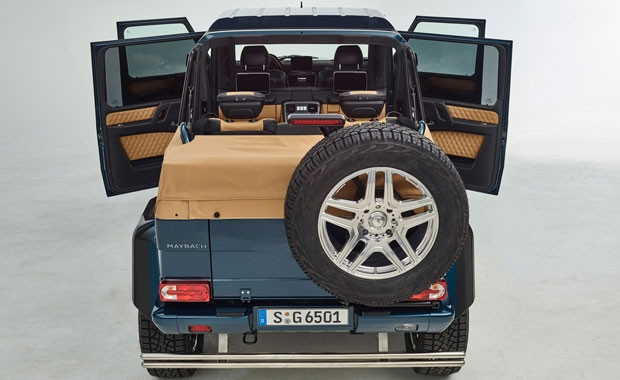 Mercedes'in yeni aracı Maybach'le ortak yapımı - Page 1