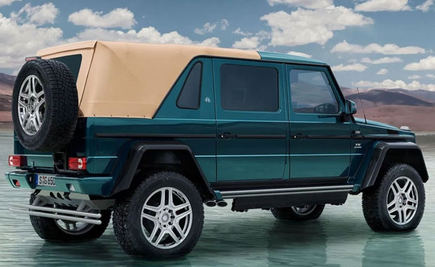 Mercedes'in yeni aracı Maybach'le ortak yapımı - Page 4