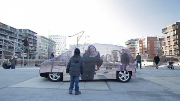 Mercedes'in yeni GÖRÜNMEZ arabası! -GALERİ - Page 1
