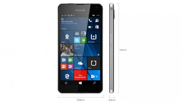 Microsoft Lumia 650: Tüm resmi görüntüler ve özellikler - Page 4
