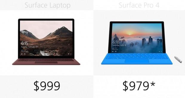 Microsoft Surface Laptop ve Surface Pro 4 karşılaştırma - Page 1