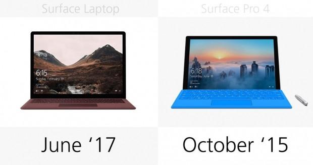 Microsoft Surface Laptop ve Surface Pro 4 karşılaştırma - Page 2