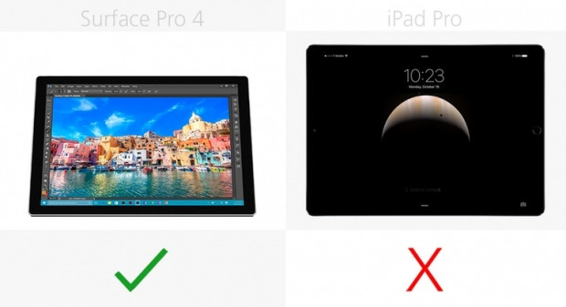 Microsoft Surface Pro 4 ve iPad Pro karşılaştırma - Page 3