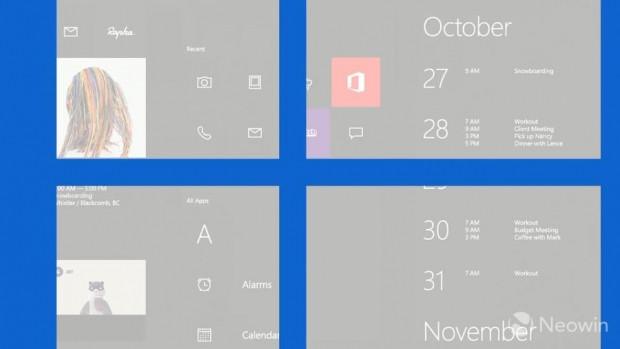 Microsoft'tan Windows 10 tasarım konseptleri! - Page 1