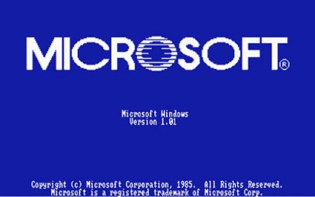 Microsoft'un 1985'ten 2011'e ekran açılış görüntüleri. - Page 1
