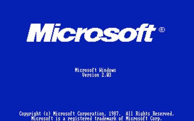 Microsoft'un 1985'ten 2011'e ekran açılış görüntüleri. - Page 2