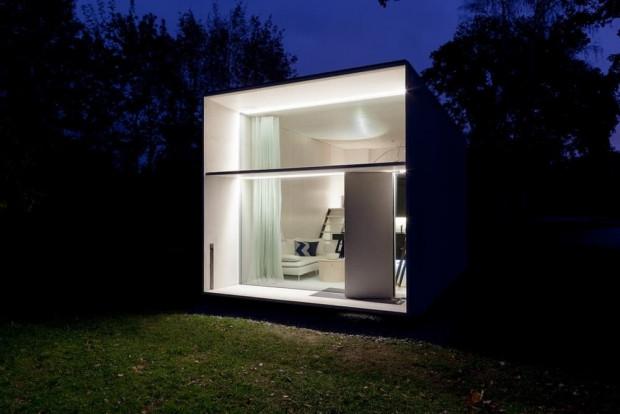 Mikro-ev sadece 7 saat içinde monte edilebilir - Page 1