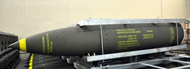 Milli bombamız sığınakları bile delebiliyor - Page 1