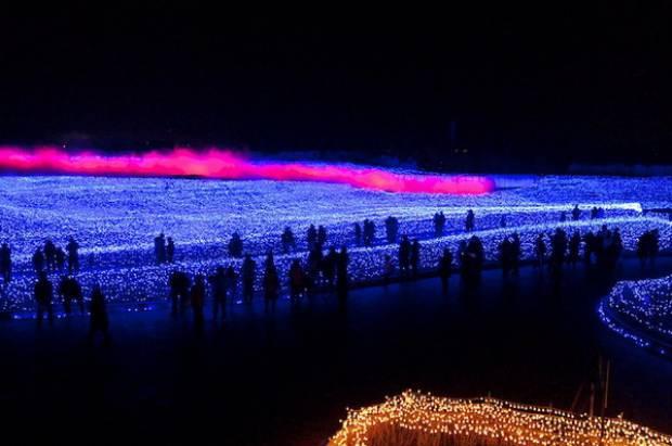 Milyonlarca ışıkla süslenen park - Page 4