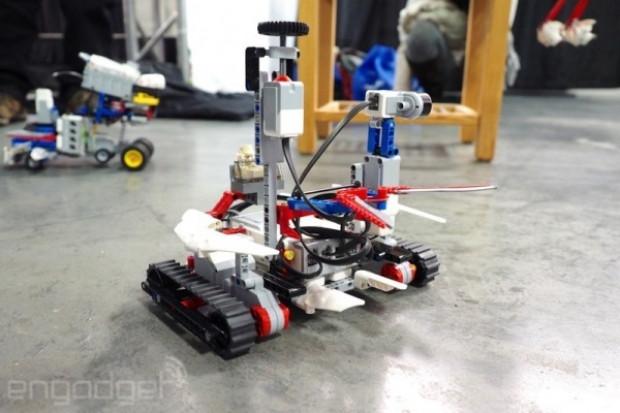MINDSTORMS Manhattan robot yarışması - Page 2