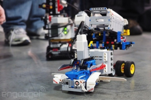 MINDSTORMS Manhattan robot yarışması - Page 3