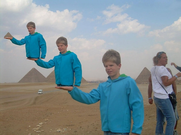Mısır'daki piramitleri ziyaret eden babayı rezil ettiler - Page 3
