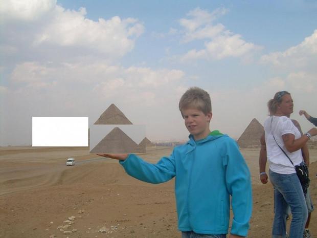 Mısır'daki piramitleri ziyaret eden babayı rezil ettiler - Page 4