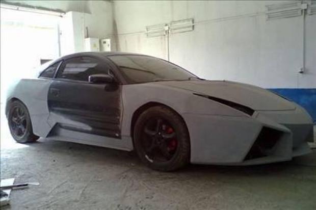 Mitsubishi modeli Lamborghini'ye böyle dönüşüyor - Page 2