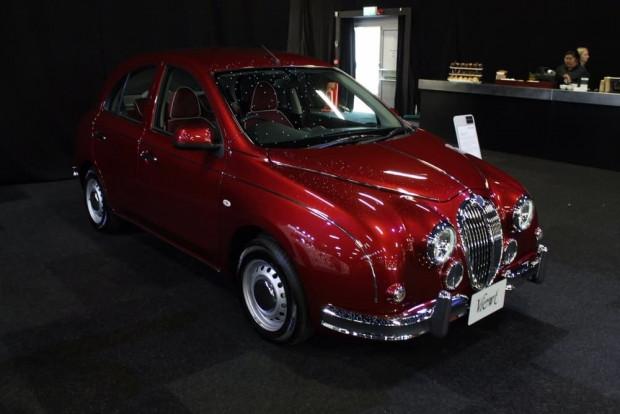 Mitsuoka Londra Motor Show'da garip ve lüks araçlar sergilendi - Page 1
