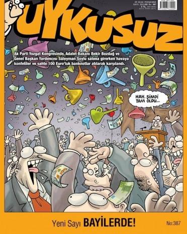 Mizah dergilerin bu haftaki kapakları - Page 1