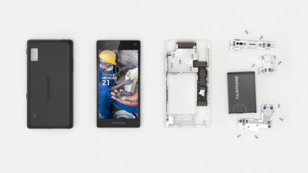 Modüler Telefon Fairphone 2 piyasada - Page 1