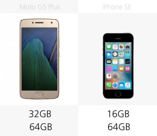 Moto G5 Plus ve iPhone SE karşılaştırması - Page 2