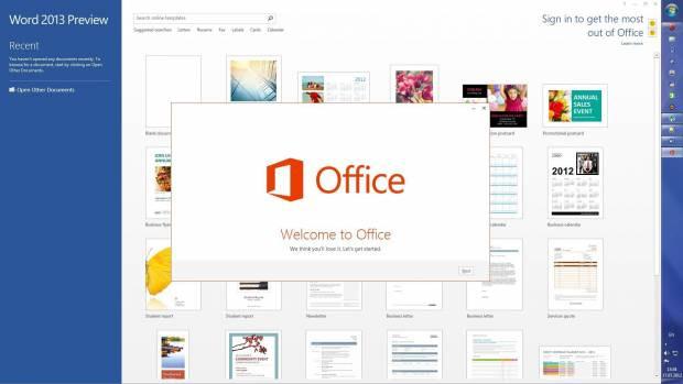 MS Office 2013'ün ilk görüntüleri - Page 1