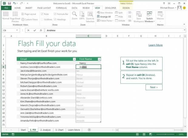 MS Office 2013'ün ilk görüntüleri - Page 2
