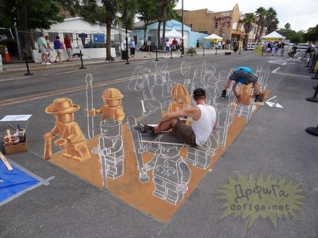 Muhteşem 3D sokak sanatı örnekleri - Page 1