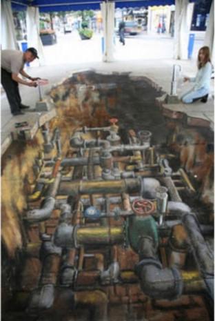 Muhteşem 3D sokak sanatı örnekleri - Page 2