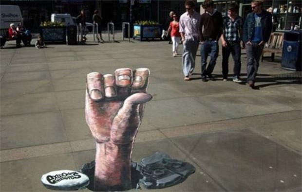 Muhteşem 3D sokak sanatı örnekleri - Page 4