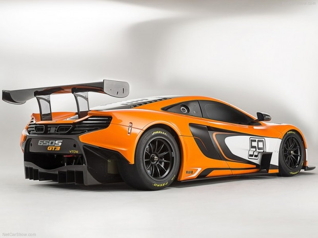 Muhteşem konsept McLaren 650S GT3 - Page 2