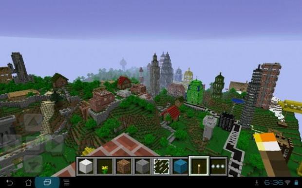 Muhteşem Minecraft tasarımları - Page 1