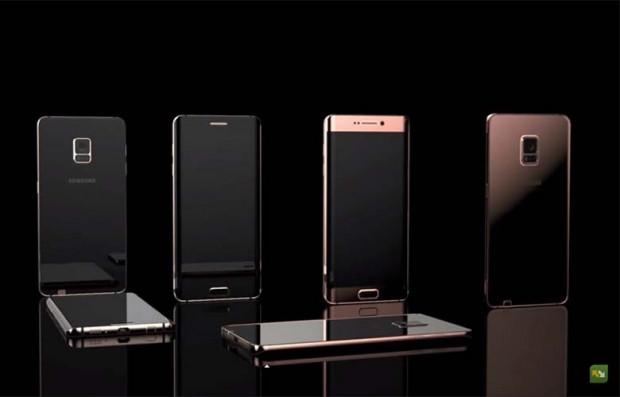 Muhteşem Samsung Galaxy Note 6 konseptleri - Page 2